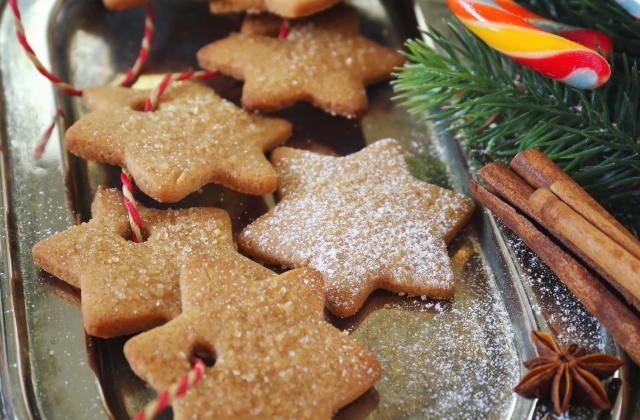 Sablés de Noël à la cannelle - Photo par 750g