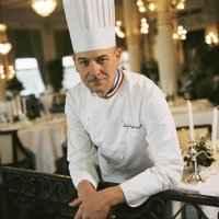 Crème de châtaigne au foie gras, cèpes et croutons - Photo par 750g