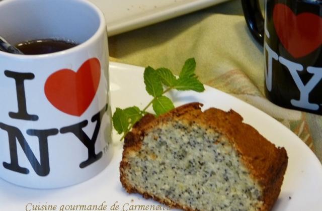 Cake citron graines de pavot - Photo par Carmen