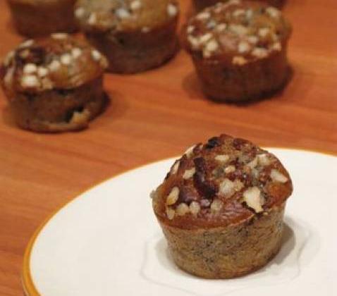 Muffins violet et blanc de lili - Photo par Lili