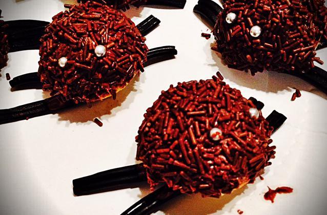 Gâteau d'araignées Halloween - Photo par Communauté 750g
