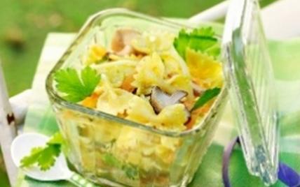 Salade de pâtes au gruyère AOC et au curry - Photo par gruyer