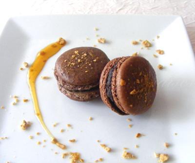 Macarons au chocolat & à l'érable 22 septembre - Photo par Sabrin
