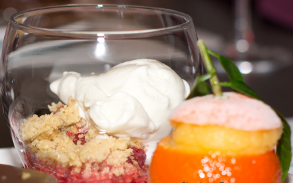 Crumble glacé - Photo par FlashGourmand
