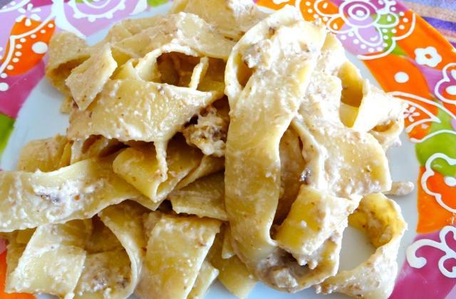 Pasta aux noix et à la ricotta - Photo par jpdojp