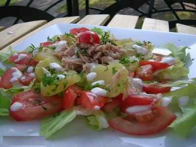 Salade de pommes de terre légère - Photo par DeyCuisine