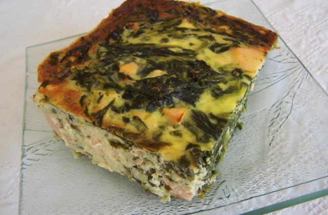 Saumon épinard façon cheesecake - Photo par dani34