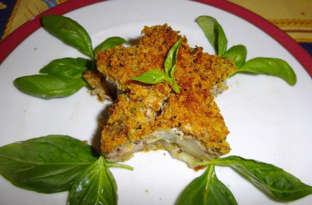Gratin de bœuf au crumble de basilic - Photo par elvisa