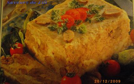 Terrine de pintade aux marrons - Photo par Yvelise