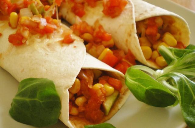 Enchiladas végetariennes - Photo par lesmet