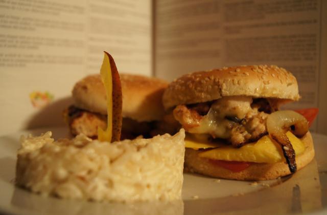 Hamburger maison traditionnel - Photo par joelle7H