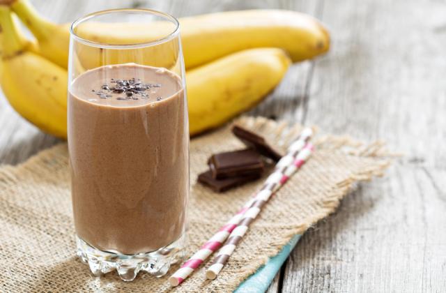 Smoothie banane et chocolat - Photo par 750g