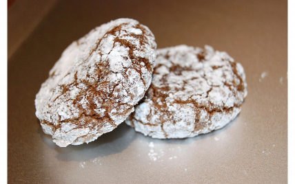 Amaretti chocolat-amandes - Photo par lisa34