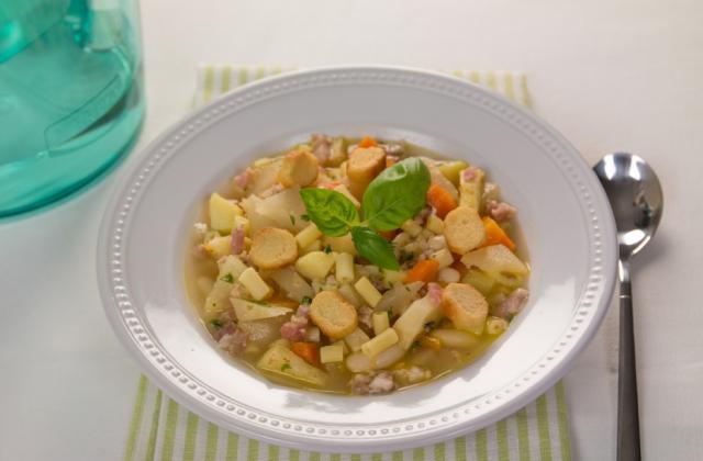 """Minestrone de légumes d""""automne - Photo par Chef Christophe"""
