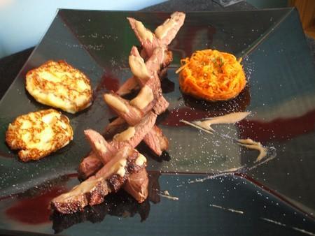 Magret de canard sauce porto et galettes de pommes de terre au laguiole ! Pour 4 - Photo par Recette de Benzo