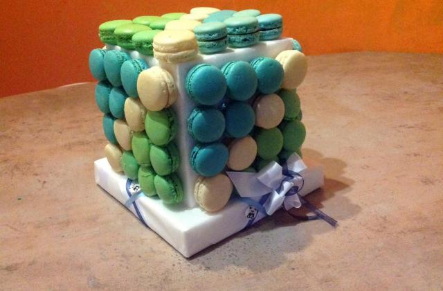 Pièce montée de macarons - Photo par melnojo