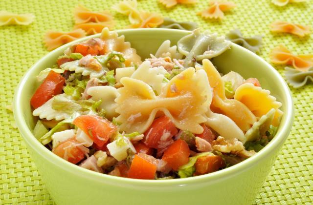Salade de pâtes au Caprice des Dieux - Photo par 750g