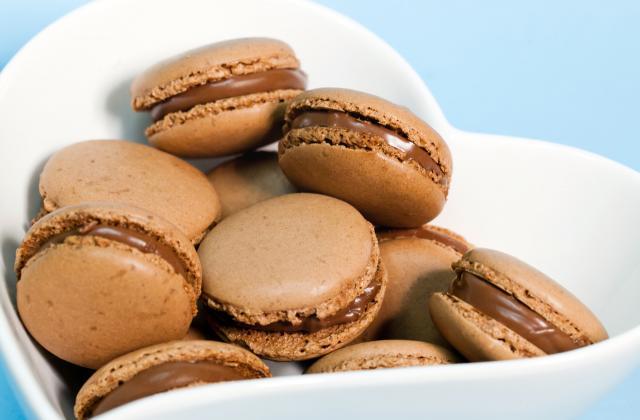 Macarons au chocolat de mon enfance - Photo par Bérengère