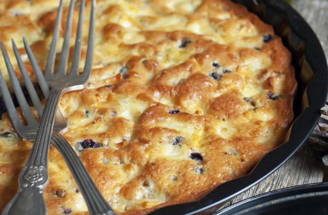 Quiche sans pâte au Bresse Bleu - Photo par 750g