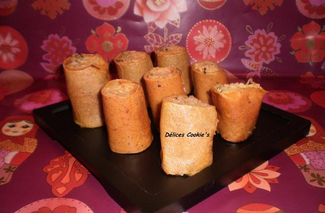 Makis de crêpes tofu / surimi / endive - Photo par laura_cookie