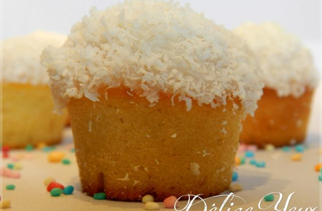 Mini cupcakes rhum coco - Photo par MamaDélice