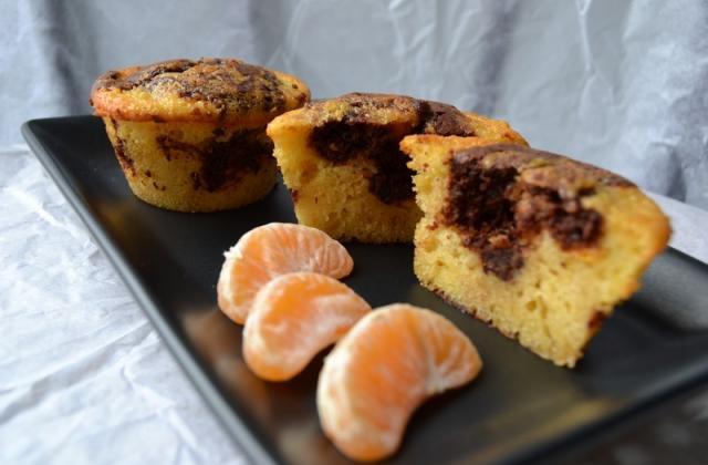 Mini cake chocolat clémentine - Photo par Cammie
