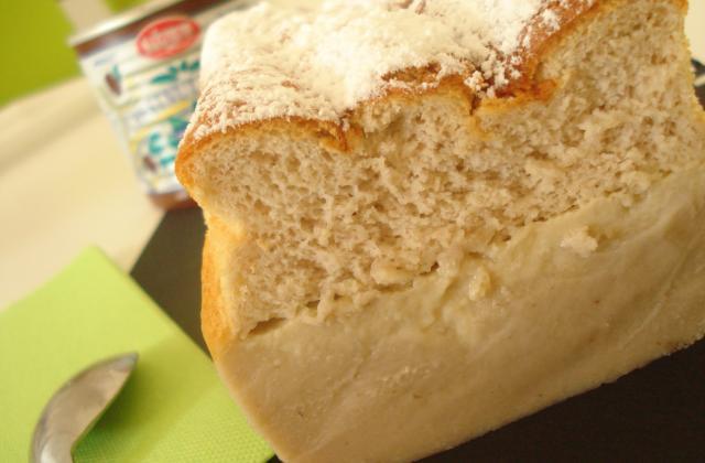 Cake magique à la crème de marrons - Photo par emilieRv
