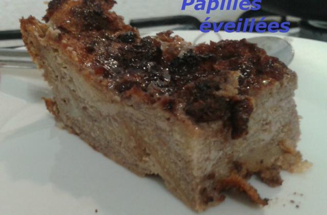 Pudding chocolaté aux pommes - Photo par cicoucook