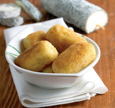 Croquettes de pommes de terre au Sainte-Maure de Touraine maison - Photo par Fromages de Chèvre