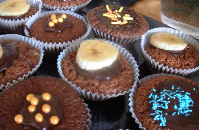 Muffins chocolat-banane - Photo par cilou83