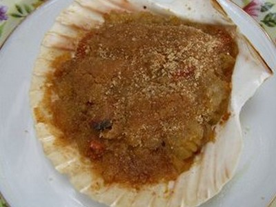 Coquilles saint Jacques au muscadet et notes de safran - Photo par sandrieG