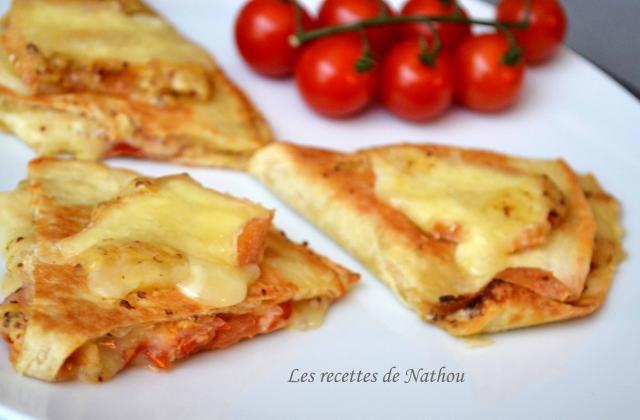 Quesadillas au Maroilles, tomates et moutarde à l'ancienne - Photo par Invité