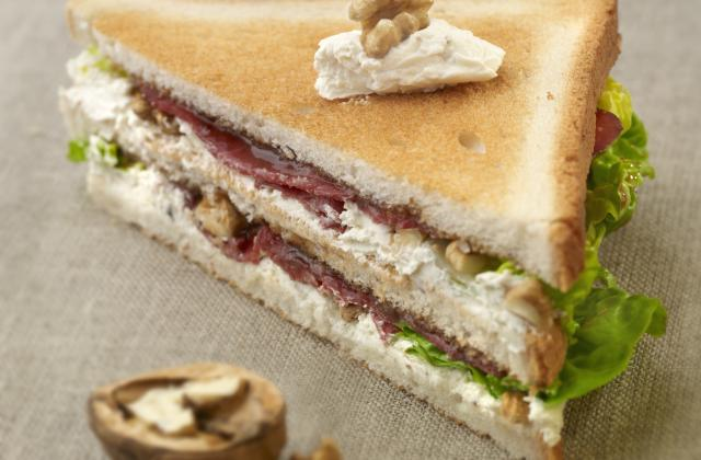 Le club sandwich champêtre - Photo par Paysan Breton