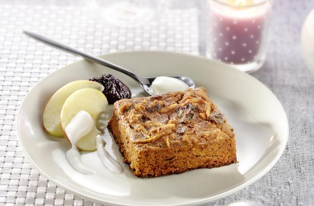 Pudding aux pommes,Pain d'épices et Pruneaux - Photo par Bjorg
