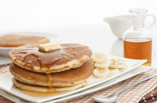 Pancake aux bananes - Photo par carpentier