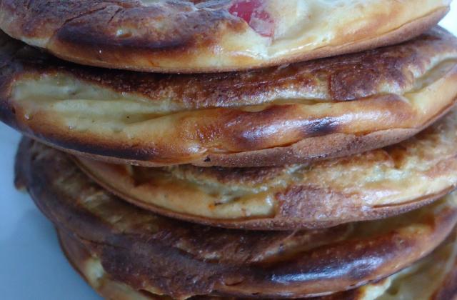 Pancakes au Philadelphia au concombre et légumes d'étés - Photo par titegrenouye