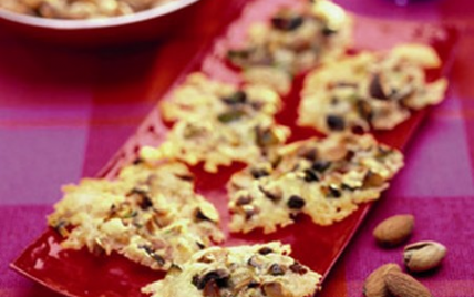 Craquants aux amandes et pistaches - Photo par Instant craquant
