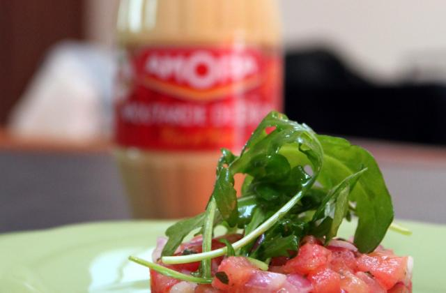 Tartare de tomates - Photo par Amora