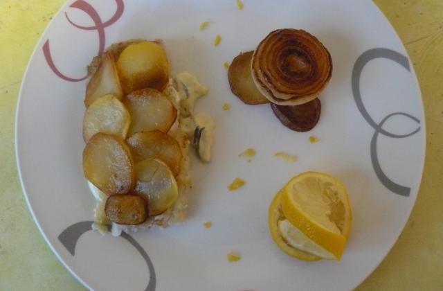 Filet de colin sauce aux cèpes - Photo par cicoucook