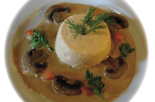 Mousse de saumon à la sauce de champignon - Photo par Invité
