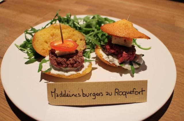 Madeleines burgers au Roquefort - Photo par lesfro