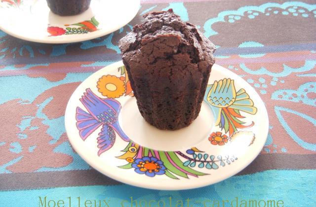 Moelleux chocolat-cardamome - Photo par elisev