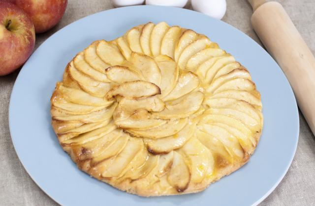 Tarte normande à pâte fine - Photo par elodie5V