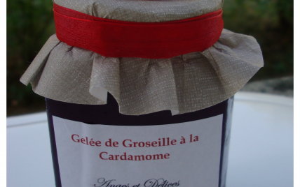 Gelée de Groseille à la Cardamome - Photo par Ange et Délices