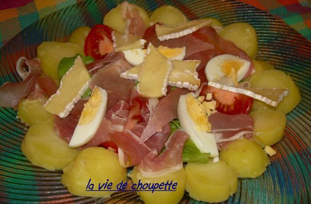 Salade au brie de Meaux - Photo par sylvieydY