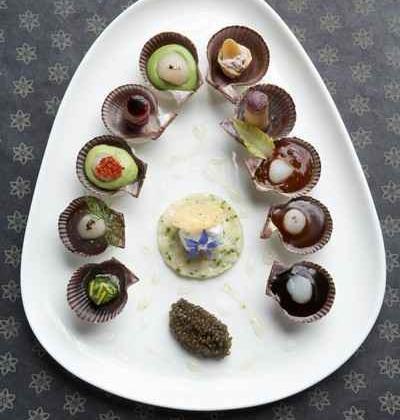Pétoncle de la rade de Brest en palette de goûts - Photo par 750g