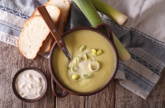 Soupe poireaux et pommes de terre - Photo par Pascale Weeks