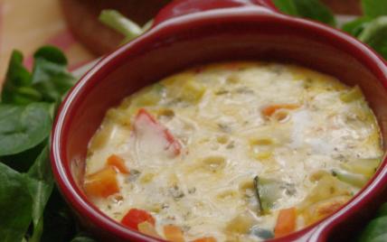 Frittata de légumes traditionnelle - Photo par myriamn5