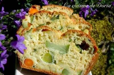 Cake aux trois légumes - Photo par doriaheimbu