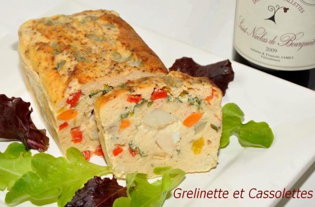 Terrine de poisson aux Saint-Jacques - Photo par isa-marie